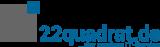 Logo - 22quadrat.de - 300x89